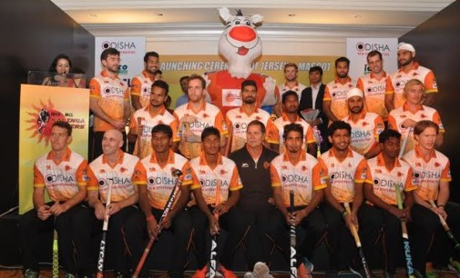 Kalinga Lancers unveils new Jersey and Mascot for Coal India HIL 2016