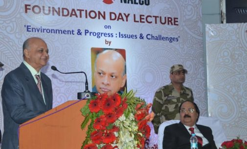 Nalco Foundation Day Lecture: Justice Pasayat stresses role of legislatures to protect environment