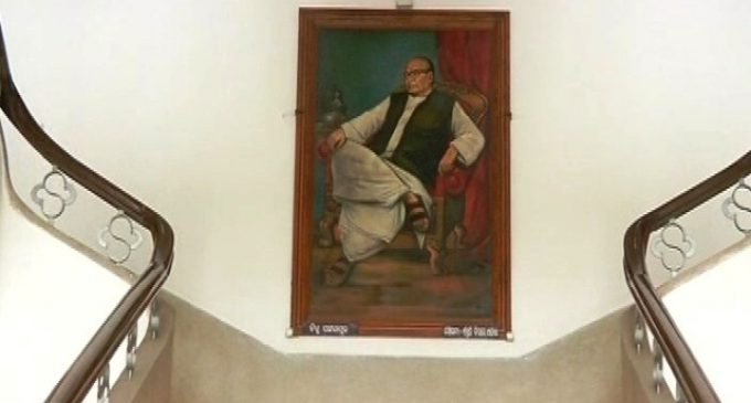 Odisha  Oppn cries foul over removal of paintings